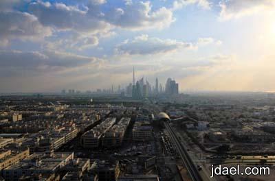 اجمل الصور لبرج خليفه بمدينة دبي واروع الصور لناطحات السحاب