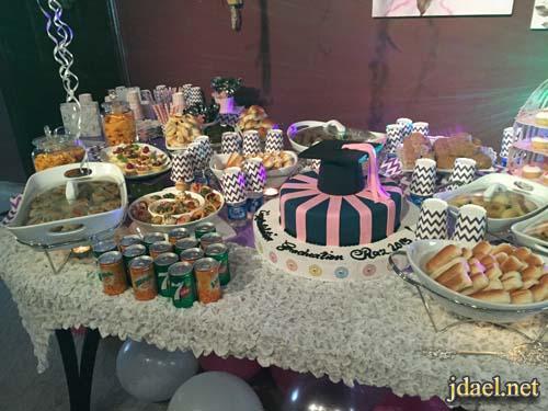 ترتيبات وتزيين حفلات تخرج بنوتات في عمر الورد في البيت