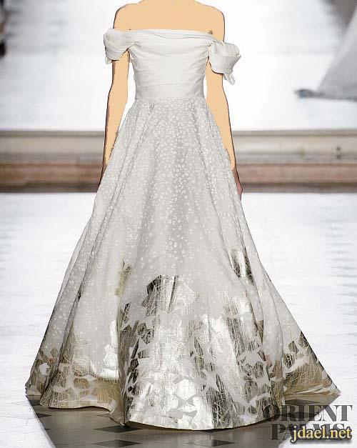 فساتين فخمة للسهرة والاعراس تصميم مصمم الازياء طوني ورد