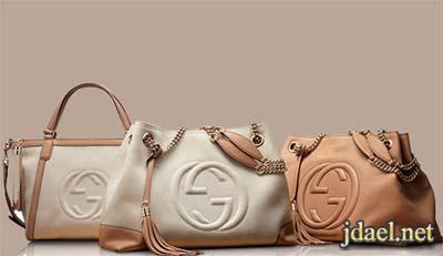 شنط Gucci شنط غوتشي جلد مطفي انيقة للبنات والسيدات