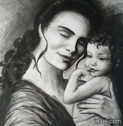 خلفيات للواتس امي اول عشق عشته بدنياي ايفون