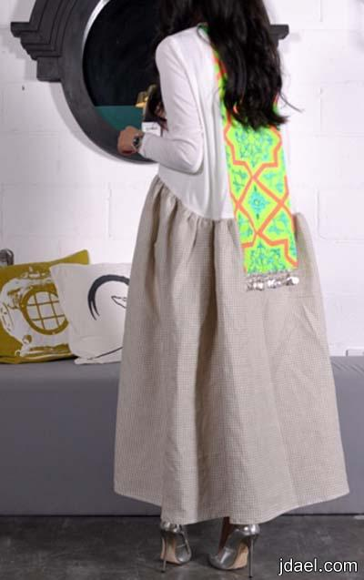 جلابيات وعبايات رمضان تحفه بجديد الموضه للمصممه مريم البدر