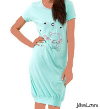 ab05ea4cf ملابس النوم بموديلات قمصان نوم قطنيه قصيره للبنات - منتدى جدايل