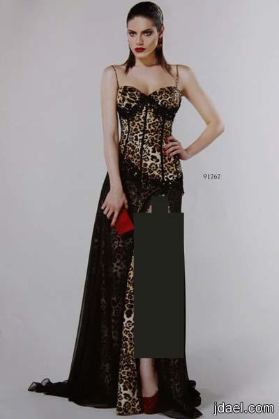 فساتين طويلة وفساتين قصيرة بالون الاسود موديلات ناعمة
