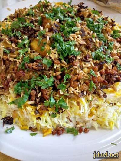 هندي بالطريقة الاصلية ارز برياني بالدجاج المطبخ الهندي