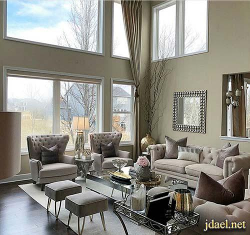 تصاميم واجهات بيوت تركية فخمة وارقى ديكورات داخلية وجبسية