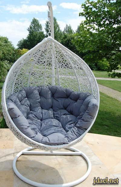 ديكور الكراسي المعلقه للتصميم الداخلي والخارجي