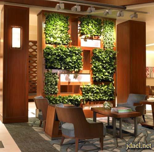ديكور حدائق داخلية وخارجية باجمل ترتيب وتنظيم للنباتات الطبيعية