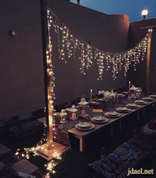 ديكورات تزيين البيوت في رمضان اكسسوار منزلي في شهر رمضان