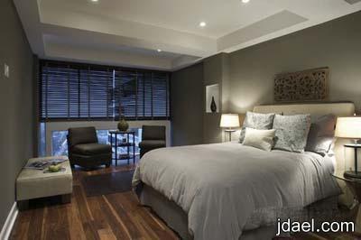 غرفة النوم بديكورات نظام الفندقه والمنتجعات   ديكور غرف نوم