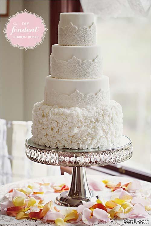 حلويات ليلة الزفاف باجمل انواع الطرط والكب كيك والسكاكير للضيوف