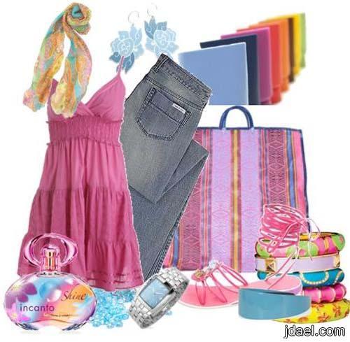 ملابس صيفيه وازياء عصريه كولكش الصيف بنات