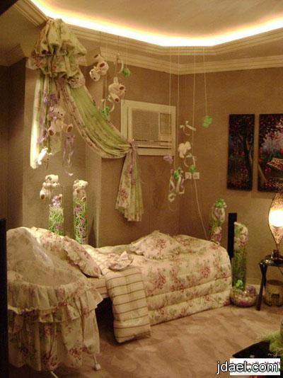 غرفة الولاده بأجمل تزيين واحلى توزيعات وهدايا للاطفال والكبار