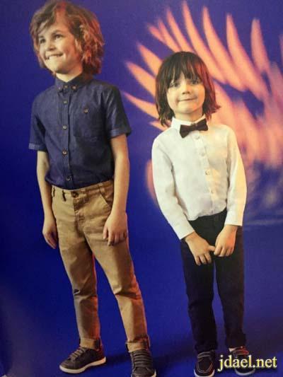 صور اجمل ملابس الصيف اولاد اطفال شركة اند