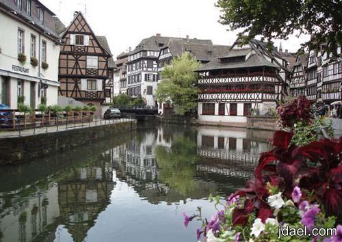 صورسياحيه لمدينة كولمار المبهره فرنسا