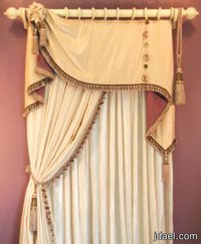 طريقة خياطة الستائر العامودية الرومانية