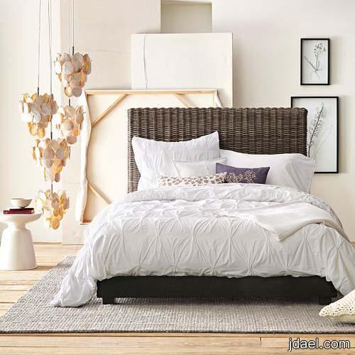 صور ديكورات غرف نوم وموديلات كيوت لاغطيه السرير