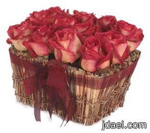 التزين بالطرق الرومنسيه تزيين الورد