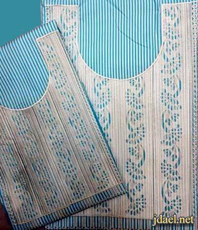 مخاوير اماراتية كنادير المخوره تطريز منوع على القطن والكتان والحرير