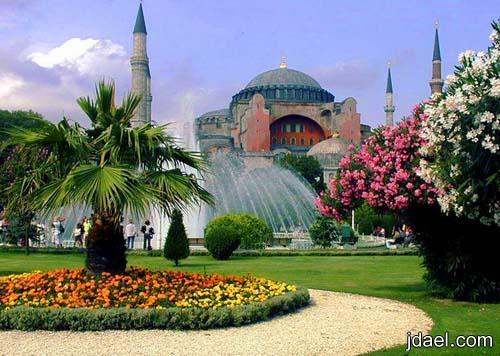 اسطنبول وسياحة بين السحر والجمال بروعة الصور