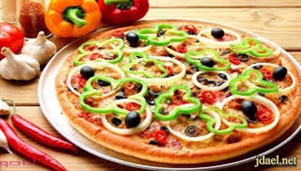 طريقة عمل عجينة بيتزا باللبن واعداد صلصة مميزة بطعم حراق
