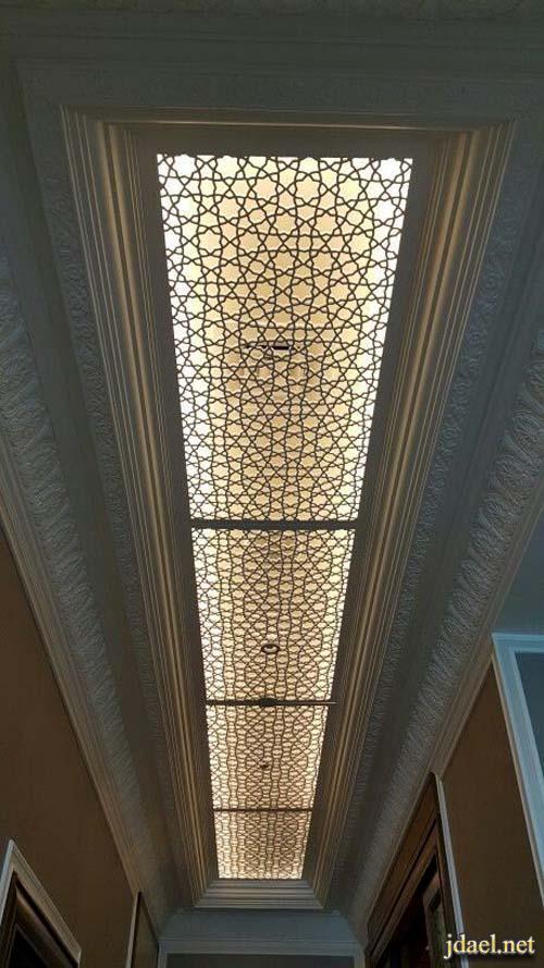 جبس اسقف ممرات ومداخل بتصاميم شرقية روعة